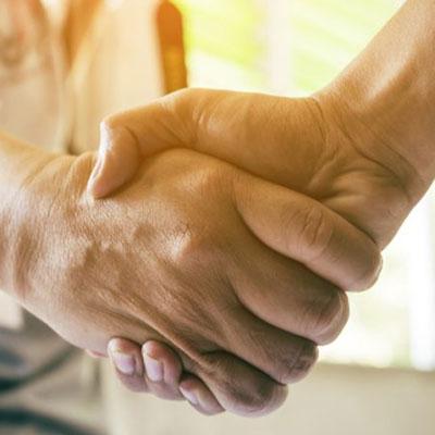 Business Handshake - Energy Technology for Business